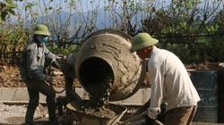 Nhân dân Quỳnh Nhai đồng lòng xây dựng nông thôn mới