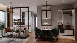 Thiết kế căn hộ 2 phòng ngủ cực thông minh cho vợ chồng trẻ