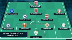 """Đội hình """"toàn sao"""" lỡ hẹn với Euro 2020: Haaland lĩnh xướng hàng công"""