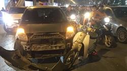 Hà Nội: Tài xế ô tô nghi say xỉn gây tai nạn liên hoàn