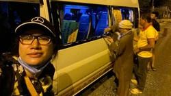 Trang Trần hốt hoảng vì chuyến từ thiện đầy bão táp, xe vỡ kính tưởng lao xuống vực