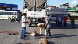 Bắt giam tài xế xe tải tông chết 3 người