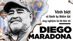 Diego Maradona: Vĩnh biệt vị lãnh tụ thiên tài ứng nghiệm từ lời tiên tri