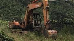 Lập chuyên án điều tra vụ 2 chiếc máy múc của doanh nghiệp bị đốt cháy