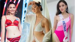 """Nhan sắc Á hậu Tường San hiếm hoi mặc bikini """"đốt mắt"""" trước ngày lấy chồng bí ẩn"""