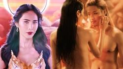"""Thủy Tiên và bạn diễn nam đóng cảnh khỏa thân trong hồ nước, khán giả """"bỏng mắt"""""""