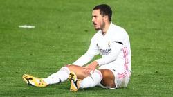 """Real thua đơn thiệt kép: """"Sao quả tạ"""" Hazard lại chấn thương"""