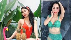 """Nhan sắc nữ MC VTV mặc """"đốt mắt"""" dân tình vừa công khai tình tứ bên Huỳnh Anh"""
