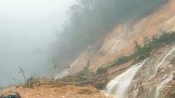Khánh Hòa: Mưa lớn, đèo Khánh Lê bị sạt lở
