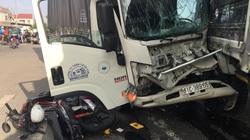 Bình Dương: Tai nạn liên hoàn, ít nhất 2 người bị thương