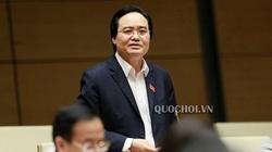 Bộ trưởng Phùng Xuân Nhạ giải trình về sách Tiếng Việt lớp 1 thuộc Bộ Cánh Diều