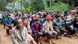 Khó khăn khi sơ tán 500 người dân Trà Leng trước bão số 10