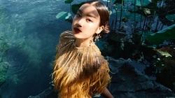 Hoa hậu Đỗ Mỹ Linh tụt đường huyết suýt ngất xỉu vì leo 500 bậc cầu thang chụp bộ ảnh ma mị
