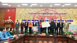Hà Nội tiếp nhận hơn 15 tỷ đồng ủng hộ đồng bào vùng lũ miền Trung