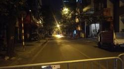 Sơ tán người dân trong đêm để di dời quả bom giữa phố Hà Nội