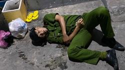 TP.HCM: Khống chế kẻ ngáo đá, trung úy công an bị gãy tay