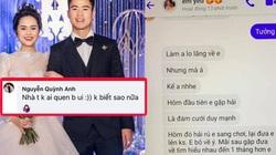 """Duy Mạnh bị làm phiền giữa nghi vấn Huỳnh Anh """"cắm sừng"""" Quang Hải"""