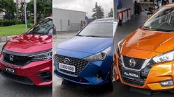 3 mẫu sedan hạng B sắp ra mắt dịp cuối năm có gì hút khách Việt?