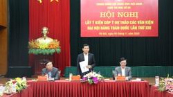 Hội NDVN góp ý Văn kiện Đại hội Đảng: Cần giải pháp hỗ trợ nông dân liên kết 6 nhà
