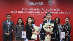 MSB và Tập đoàn Bảo Sơn bắt tay để cùng vươn tầm