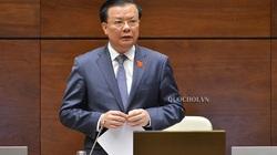 Bộ trưởng Đinh Tiến Dũng: Thu ngân sách thấp nhất 10 năm gần đây