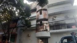 TP.HCM: Cứu sống 6 người trong căn nhà 4 tầng bị cháy dữ dội