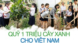 Quỹ 1 triệu cây xanh cho Việt Nam: 9 năm vì một hành trình gieo màu xanh cho cuộc sống