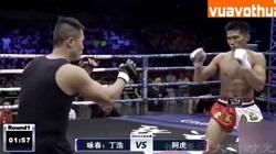 Clip: Chưa đầy 2 phút, võ sĩ MMA đã đánh cao thủ Vịnh Xuân nhập viện
