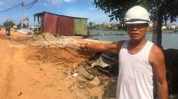 Quảng Bình: Kè biển 26 tỷ đồng đang thi công đã bị biến dạng