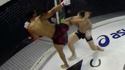 Clip: Lĩnh cú đá siêu đẳng, võ sĩ MMA thoát chết nhờ… trọng tài