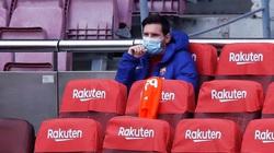 Vì sao Messi ngồi dự bị ở trận đại thắng của Barcelona?
