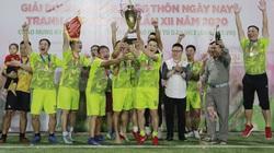 Hình ảnh bế mạc Giải bóng đá NTNN/Dân Việt lần thứ 12 - tranh Cúp Mùa Thu 2020