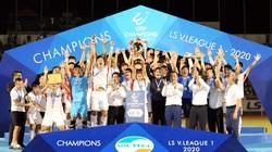 Viettel vô địch V.League 2020 và khoảnh khắc của hậu duệ Thể Công