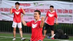 """Đội bóng Zingnews: """"Ngựa ô"""" đích thực tại giải bóng đá báo NTNN/Dân Việt"""