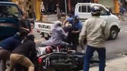 Clip: Công an nổ súng bắt 2 nghi phạm trộm xe máy ở Đà Nẵng