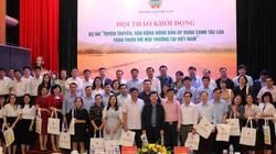 Giúp nông dân 24 tỉnh trồng lúa thân thiện môi trường