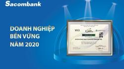 Sacombank được vinh danh là doanh nghiệp bền vững năm 2020