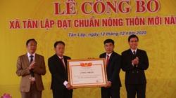 Sơn La: Công bố xã Tân Lập cán đích nông thôn mới