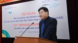 Hà Nội: Cán bộ khuyến nông học trồng rau VietGAP