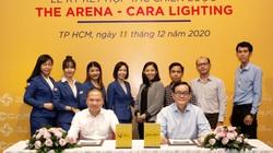 """Chủ đầu tư The Arena bắt tay cùng """"phù thủy ánh sáng"""" của Cara Lighting"""
