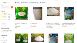 """Gạo ST25 """"nhái"""": Bán công khai từ chợ bình dân đến chợ mạng"""