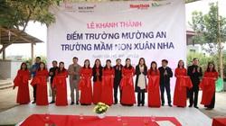 Khánh thành điểm trường mơ ước tại Vân Hồ, Sơn La: Đông bớt lạnh với cô trò vùng cao