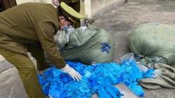 Lạng Sơn: Thu giữ hơn 33.000 chiếc găng tay cao su đã qua sử dụng nhập lậu