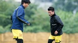 Tuấn Anh bất ngờ tập riêng cùng Quang Hải