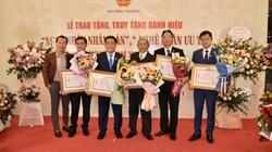 PNJ vinh dự có 6 nghệ nhân được trao tặng danh hiệu nghệ nhân ưu tú ngành Kim Hoàn