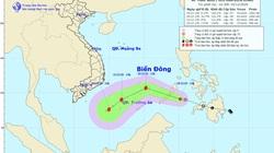 Sắp hết năm 2020, biển Đông còn đón áp thấp nhiệt đới, có thể mạnh lên thành bão