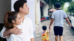 Trường Giang - Nhã Phương lo lắng cho con gái vì dịch Covid-19
