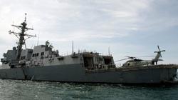 Khu trục Mỹ đi qua eo biển Đài Loan, Trung Quốc vội điều chiến đấu cơ, tàu chiến bám đuôi