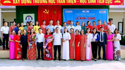 Trường TH&THCS Quang Trung: Đổi mới rõ nét trong chất lượng giáo dục