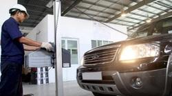 Tiêu chuẩn khí thải mới đối với xe ô tô